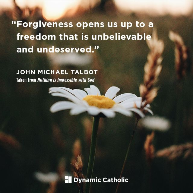 Forgiveness Opens Us Up To A Freedom That Is Unbelievable And Undeserved  #DailyReflection Http: