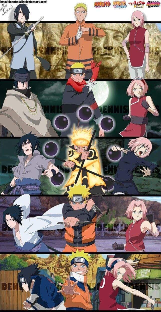 | Naruto Uzumaki | Sasuke Uchiha | Sakura Haruno | #naruto #uzumaki #sasuke…