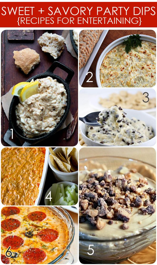dips, dips, dips: Fun Recipes, Party Dip Recipes, Savory Dips, Parties Dips, Party Dips, Party'S, Sweet, Dips Recipes, Parties Food
