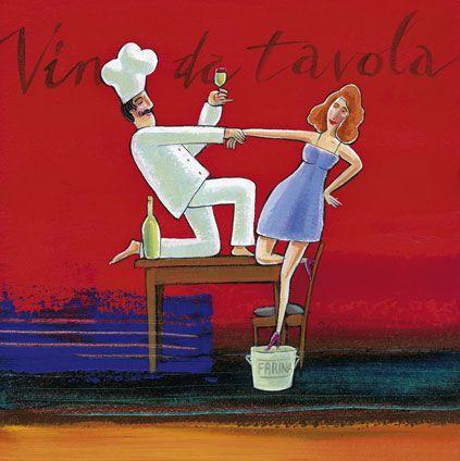 'Vino da Tavola' by Frans Groenewald
