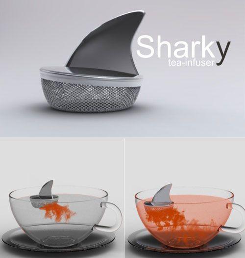 Sharky Tea Infuser, make a killer tea...