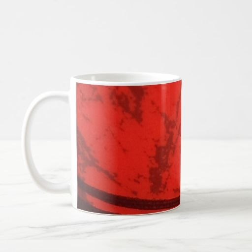 Red and Black Design Mug
