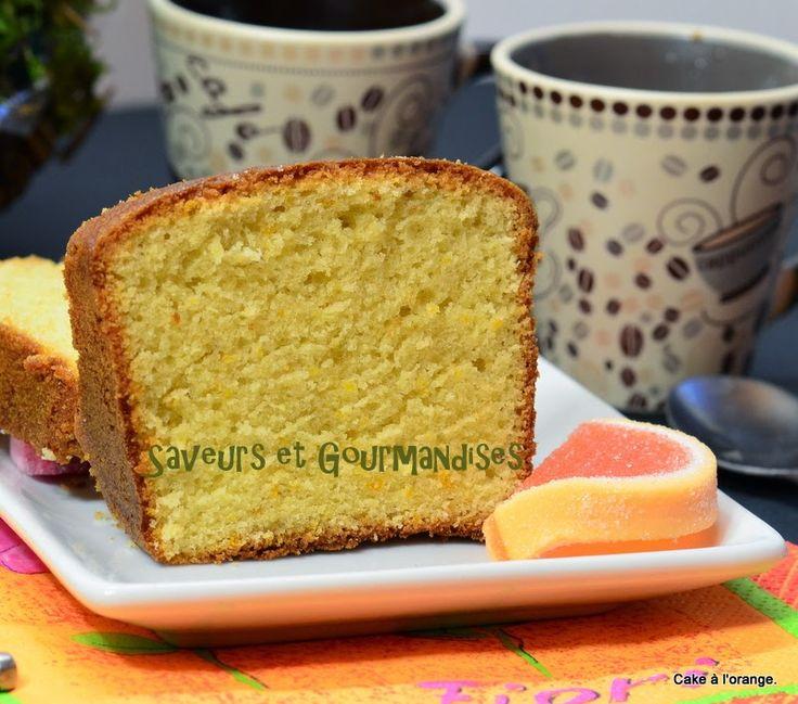 Cake à l'orange - Recette de Sophie Dudemaine ( Testé avec des pépites de chocolat)