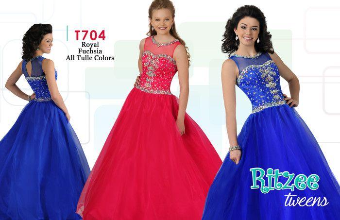 8 best Tween Pageant, Quincenerra, Bat Mitzvah Gowns images on ...