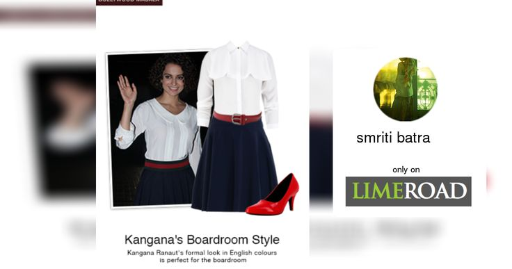 Checkout this gorgeous look created by smriti on : http://www.limeroad.com/scrap/571f82dea7dae878a90c4895/vip?utm_source=&utm_medium=desktop