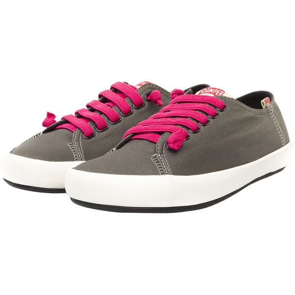 Camper Women's Peu Rambla Sneakers - Size 38 (1,185 MXN) ❤ liked on Polyvore featuring shoes, sneakers, multi, small heel shoes, short heel shoes, low heel shoes, campers sneakers and camper shoes