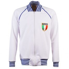 Italy 1982 World Cup Track Top This jacket was worn in the World Cup in 1982.It has ITALIA printed on the back. http://www.MightGet.com/may-2017-1/italy-1982-world-cup-track-top.asp