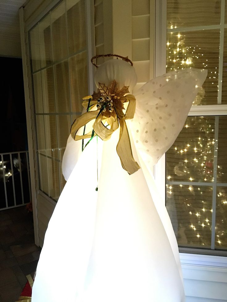 415 best Christmas decor images on Pinterest Christmas decor - outdoor angel christmas decorations