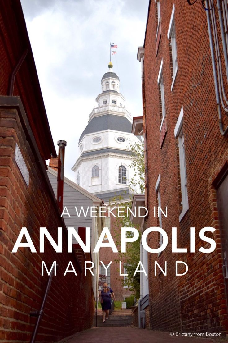 A Weekend in Annapolis, Maryland // Brittany from Boston