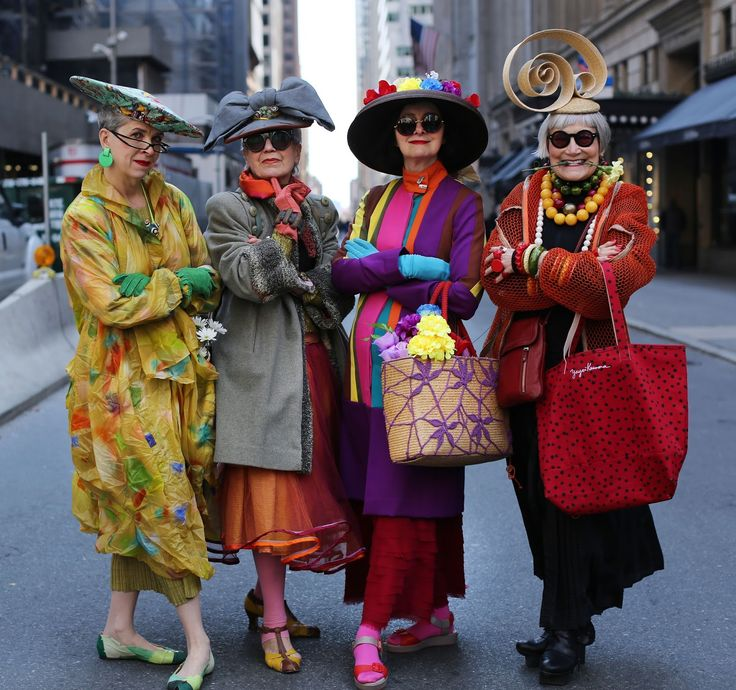 ADVANCED STYLE: Easter Parade 2015