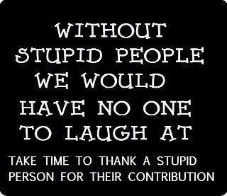 Without stupid peopleLaugh, Quotes, Scoreboard, True, Funny Stuff, Humor, Things, Stupid People, Stupid Personalized