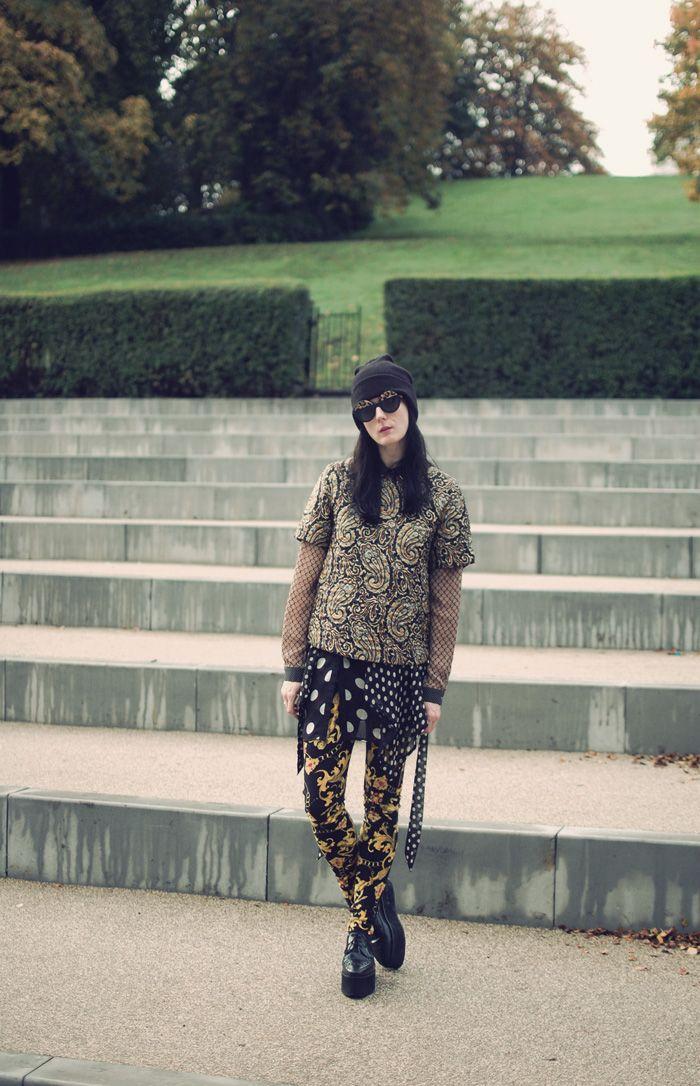 paisley, versace, and polka dots