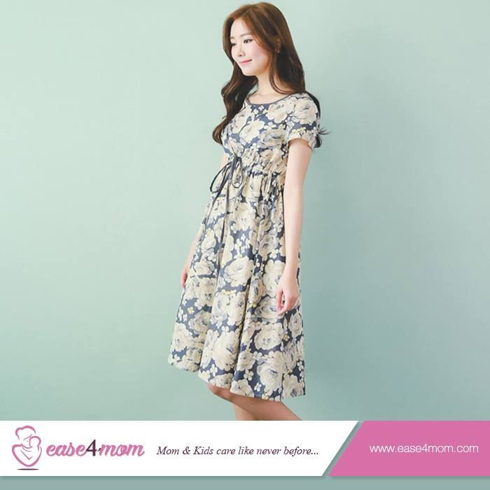 Maternity Summer Dress is to make you feel light and relax during the pregnancy. It is very suitable for moms.  #Motherhood #Easeformom #MotherCare #Online
