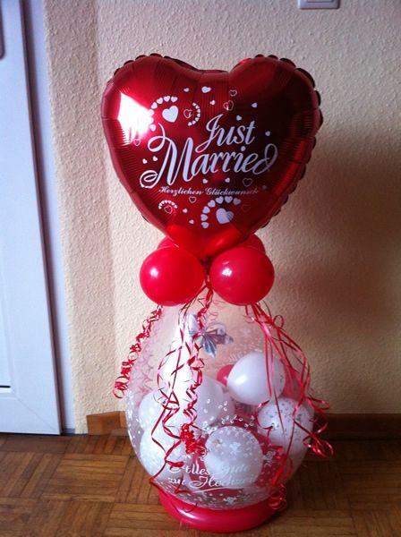 8 Schon Geldgeschenk Luftballon Hochzeit Deko