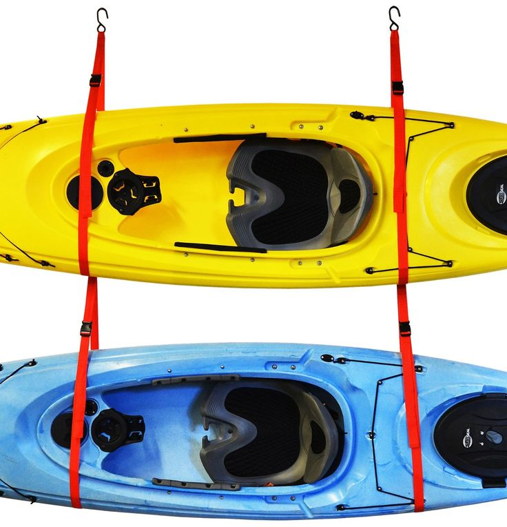 Amazon.com : Malone Auto Racks SlingTwo Double Kayak Storage System : Sports & Outdoors