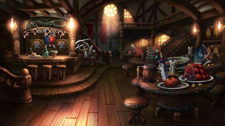 Pub - Art of Game Concept by mio2014.deviantart.com on @DeviantArt