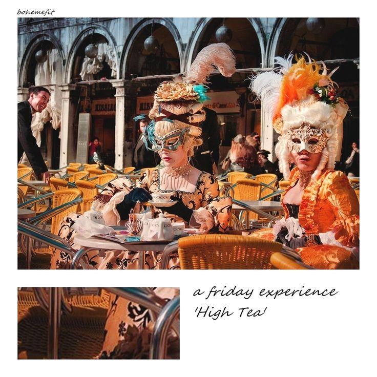 friday experience 'High Tea' #bohemefit ☾