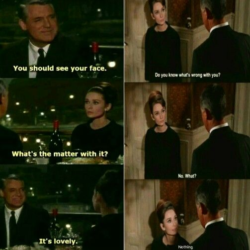 Audrey Hepburn & Cary Grant in Charade