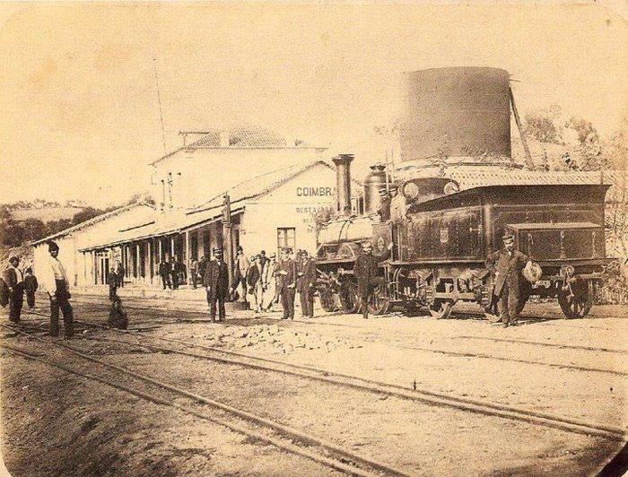 Coimbra B – Estação Velha, 1870