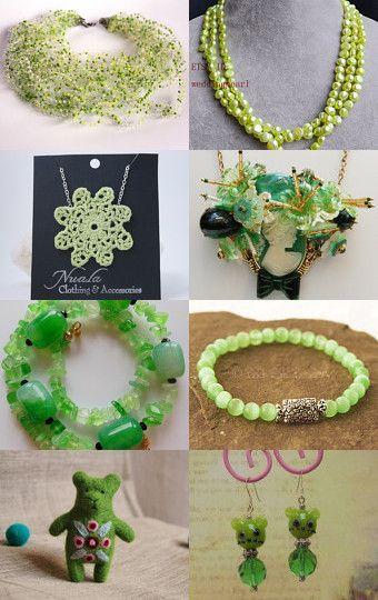 Tender green by Inna Starovoitova on Etsy--Pinned with TreasuryPin.com