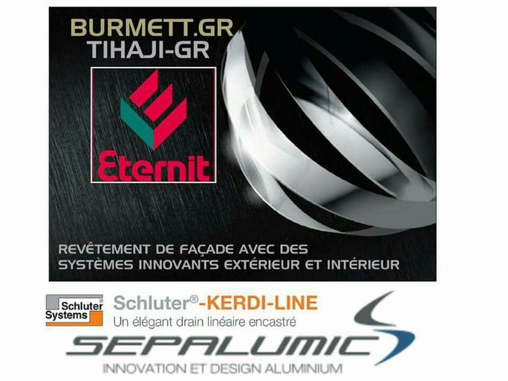 Nos partenaires:  www.eternit.fr  www.sepalumic.com www.schluter-systems.fr