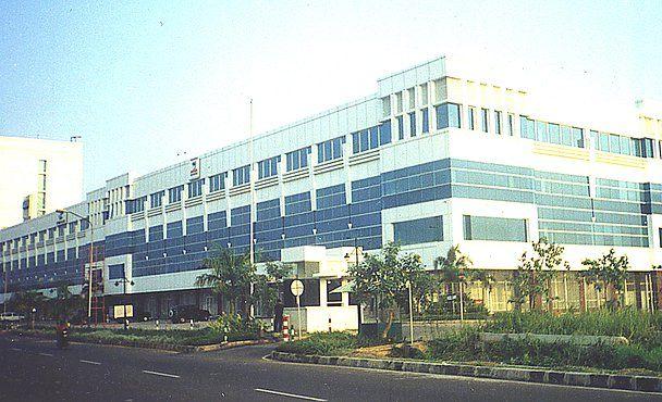Lokasi PT Ekamulia Mandiri Jaya in Kotamadya Jakarta Utara,  sebuah perusahaan kontraktor di jakarta untuk pengadaan, pemasangan, perawatan gedung, aluminium, kaca, facade dan composite panel