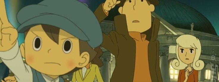 Professor Layton and the Miracle Mask - Games Samurai
