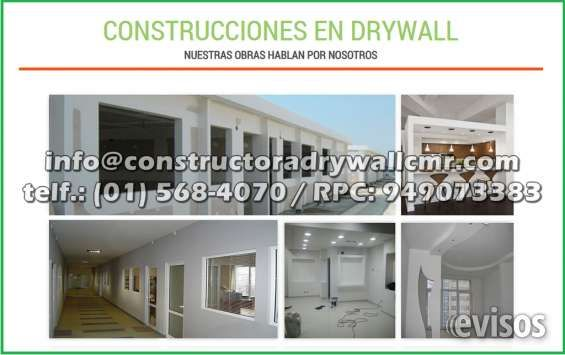 Expertos en Remodelacion y Ampliacion de dos Niveles en Sistema Drywall para Departamentos Constructora Drywall CMR es una empresa ded .. http://lima-city.evisos.com.pe/expertos-en-remodelacion-y-ampliacion-de-dos-niveles-en-sistema-drywall-para-departamentos-id-610662
