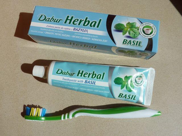 Dabur Herbal Basil – naturalna pasta do zębów z Tulsi / Bazylią ~ Lepsza wersja samej siebie