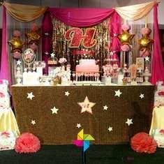 Harrithra's 1st Birthday - Twinkle Little Star