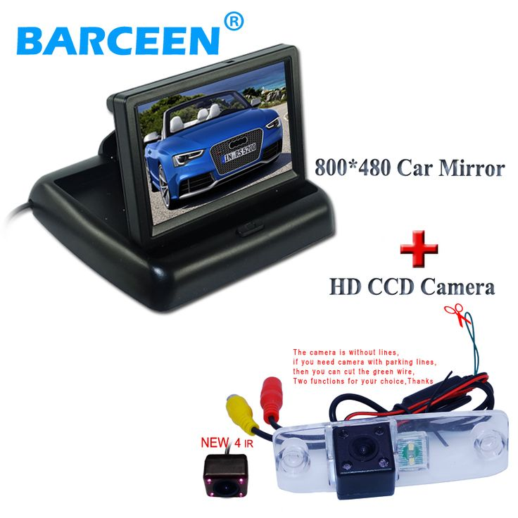 wire car parking camera bring rain-proof function+ car rear monitor placement In-Dash fit for Hyundai Elantra