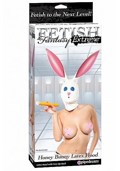 Latex bunny mask