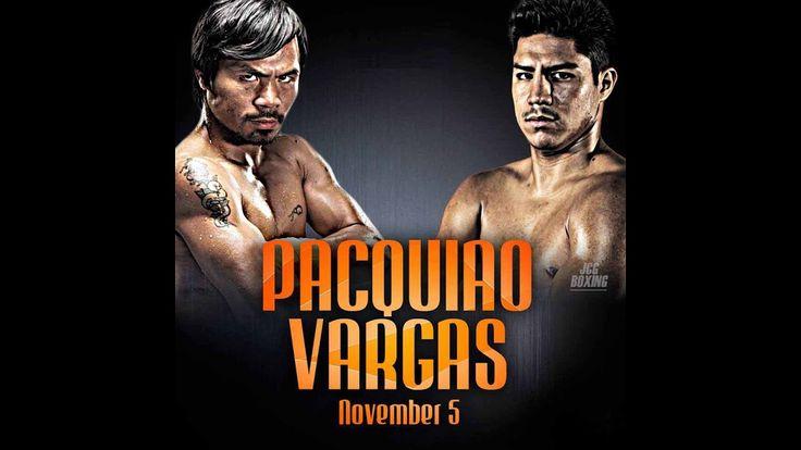 Manny Pacquiao vs Jessie Vargas | Pacquiao vs Vargas Live Stream | Pacquiao vs Vargas Time