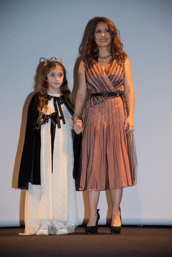 Salma Hayek y Valentina, madre e hija de paseo por Nueva York