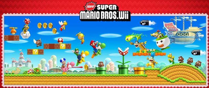 New Super Mario Bros. Wii star coins. Click for big artwork