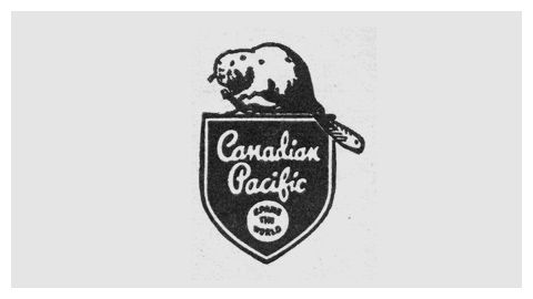 What's awesome is that most railroad company logos are inherently nostalgic.    Canadian Pacific (1946)