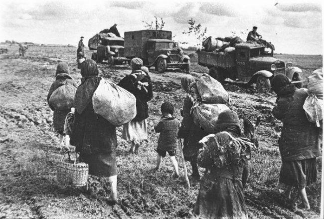 Архивные военные фотографии