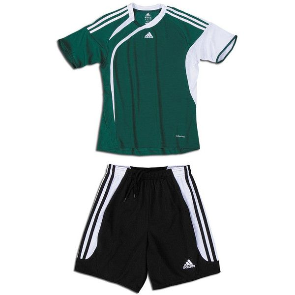 Adidas Girls Nova Short - Soccer Uniforms - Soccer Shorts ❤ liked on Polyvore featuring sports