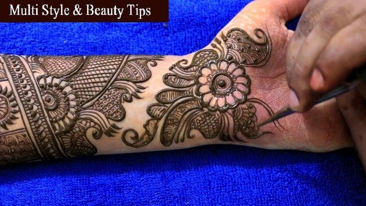 Hands Mahndi Designs 2017/18 | Multi Style & Beauty Tips