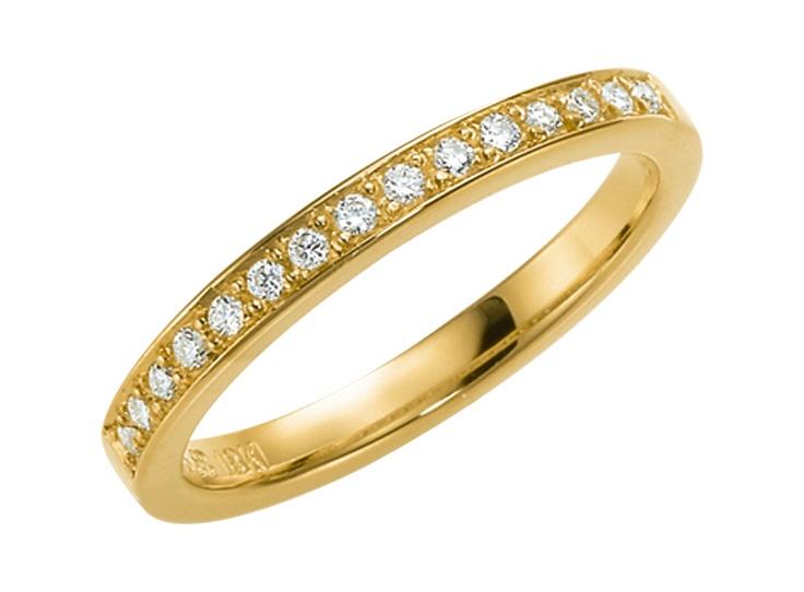passion-237-2-51-15. Förlovningsring - i vitt guld.