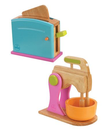 Take a look at this Bright Kitchen Accessories Set by KidKraft on #zulily today!