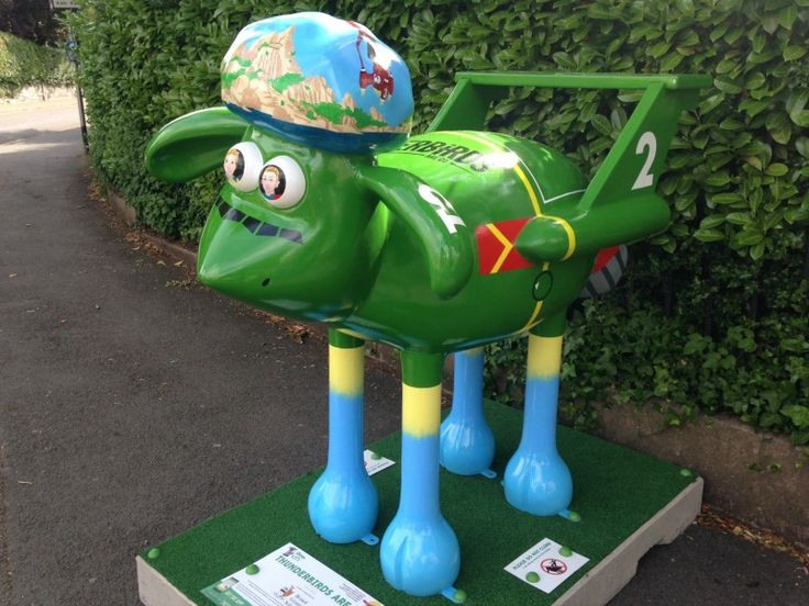 Shaun in the City Bristol - Thunderbirds are Go - located at Bristol Grammar School, Elton Road