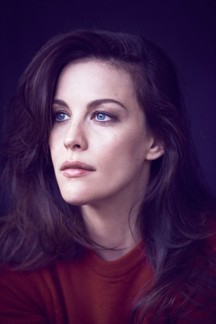 Liv Tyler, photographed by Matthew Brookes for Glamour, July 2014.