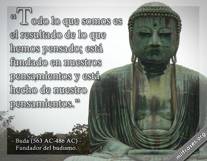 Buda, fundador del budismo.
