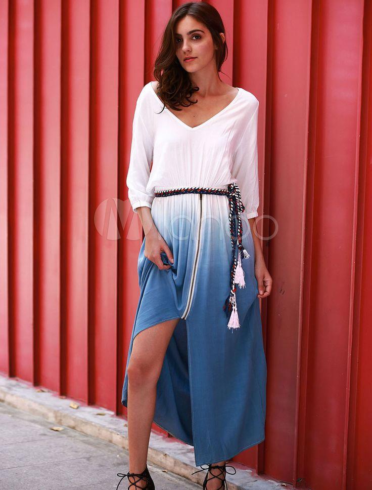 Long White Maxi Dress