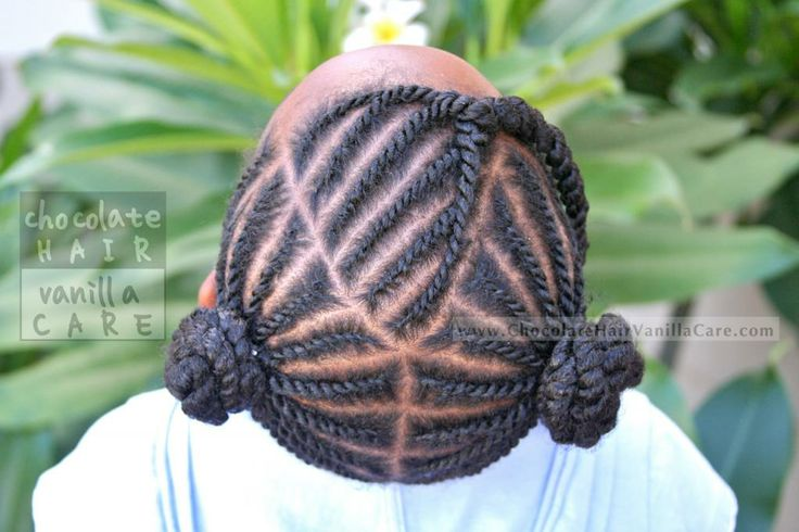 Flat Rope Twists Into Two Puffs: School Picture Hairstyle 2013 very pretty!