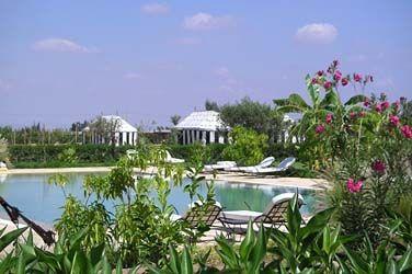 Les jardins d'Issil - Maroc, Marrakech (Route de l'Ourika) - Maroc
