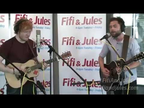 My favorite two singers together sing my favorite song I'm officially in love  Ed Sheeran feat. Passenger No Diggity