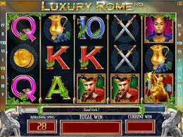 LUXURY ROME  L'Empire Romain, Jules César, les combats de gladiateurs… vous voilà tombé dans le monde de la reine Cléopâtre, mais dans un casino gratuit !