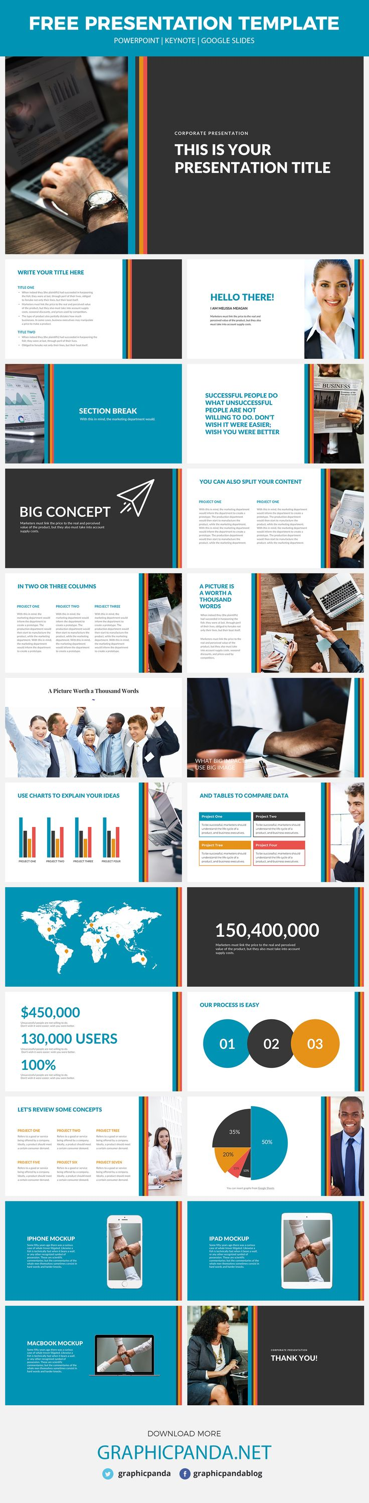 are you looking for a modern yet classic template that can be used perfectly in your presentation well retro business free powerpoint template is the